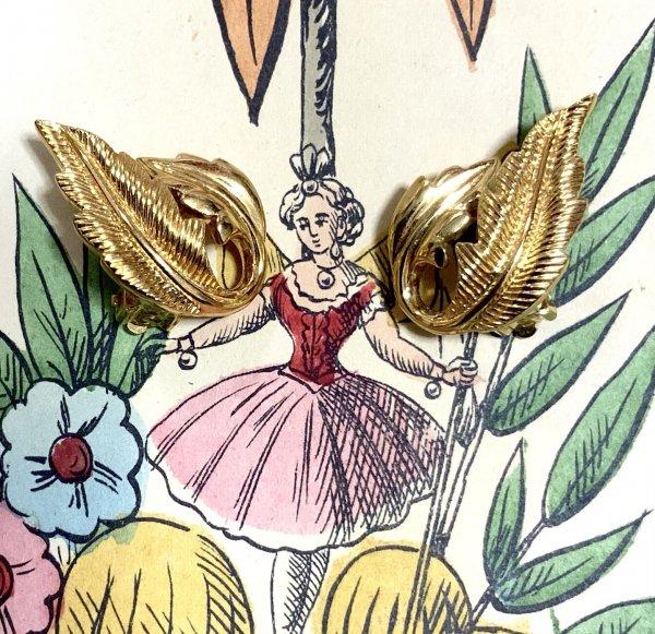 vintage earrings ( 1980's )の画像