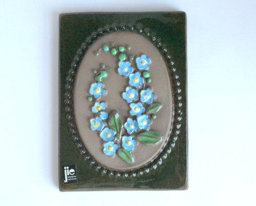 スウェーデン・JIE Gantofta製陶器の壁掛けの画像