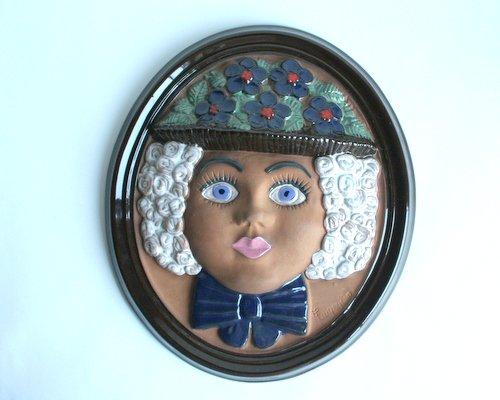 スウェーデン・Gabriel製陶器の壁掛けの画像