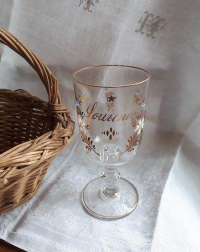 フランス Souvenir エナメルグラスの画像
