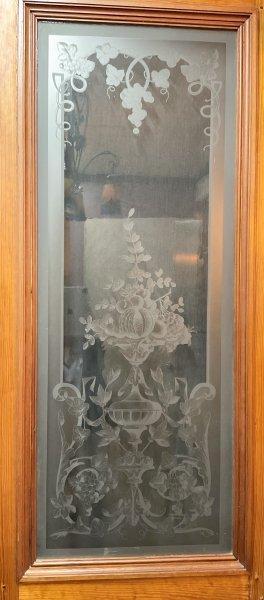 フルーツとボタニカルのステンドグラスの画像