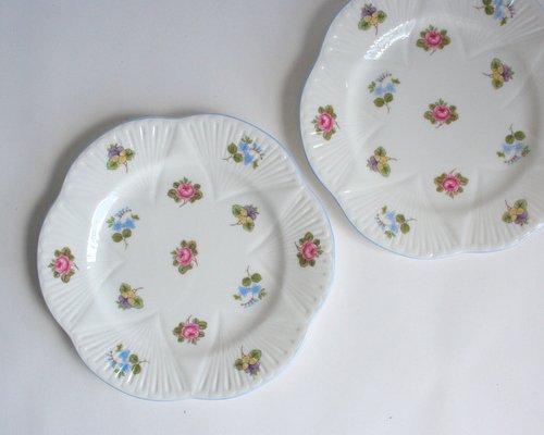 イギリスShelley製ケーキ皿の画像