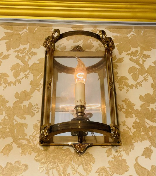 アンティーク 街灯風の照明の画像