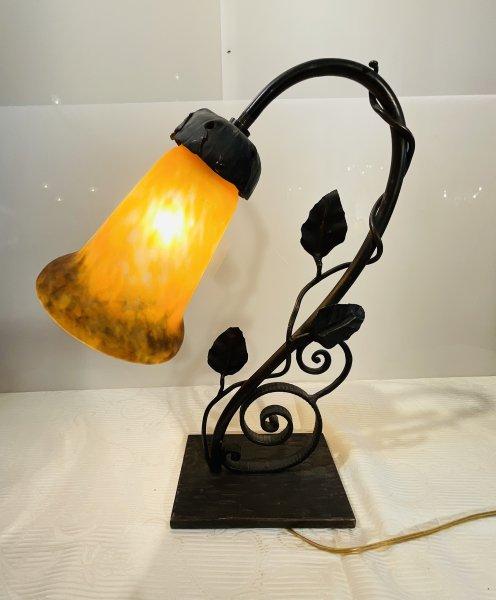 アンティーク ミューラー 照明スタンドの画像