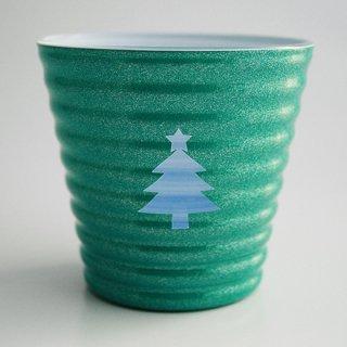 フリーカップ(ラメシリーズ)【クリスマス限定】グリーン
