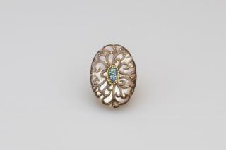 Arabesque SV brooch