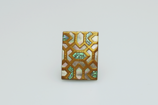 ORIENT Square brooch
