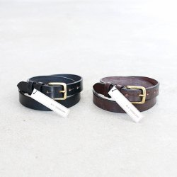 M.F.SUDDLERY [エムエフサドルリー] ''1.0 West End Buckle Saddle Leather Belt'' (MEN'S & LADIES')<img class='new_mark_img2' src='https://img.shop-pro.jp/img/new/icons13.gif' style='border:none;display:inline;margin:0px;padding:0px;width:auto;' />