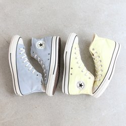 CONVERSE [コンバース] ''ALL STAR PET-CANVAS HI LIGHT YELLOW'' (MEN'S & LADIES')<img class='new_mark_img2' src='https://img.shop-pro.jp/img/new/icons13.gif' style='border:none;display:inline;margin:0px;padding:0px;width:auto;' />