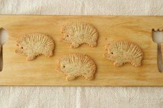 ハリネズミクッキー(全粒粉)