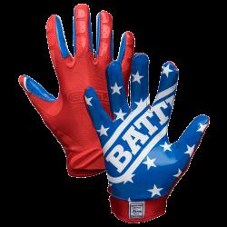 Battle Ultra-Stick Receiver Gloves アメリカンフラッグ