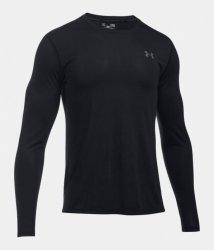 UNDER ARMOUR THREADBORNE ロングスリーブシャツ ブラック