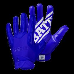 BATTLE HYBRID FOOTBALL GLOVES ブルー