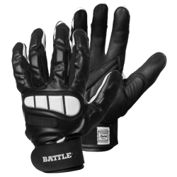 BATTLE LINEMAN FOOTBALL GLOVES ブラック