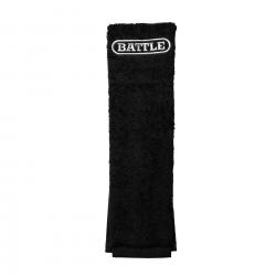 BATTLE フットボールタオル ブラック