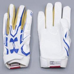 M,Lサイズ UNDER ARMOUR UCLA F5 ホワイト・ゴールド