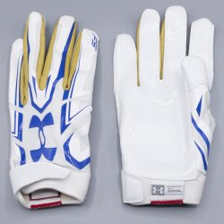 Lサイズ UNDER ARMOUR UCLA F5 ホワイト・ゴールド