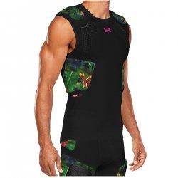 UNDER ARMOUR PADDED FOOTBALL コンプレッションシャツ ジェイドグリーン