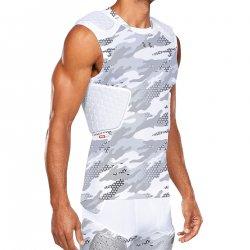 UNDER ARMOUR PADDED FOOTBALL コンプレッションシャツ ホワイトカモフラージュ