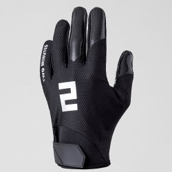 TWO MINUTES FOOTBALL GLOVES メタルブラック