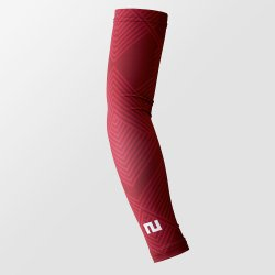 TWO MINUTES FOOTBALL ARM SLEEVES シェブロレッド