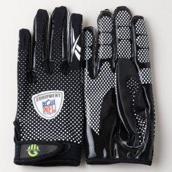 Lサイズ Reebok NFL FADE Football Gloves  ブラック