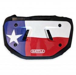 BATTLE FOOTBALL バックプレート テキサス フラッグ