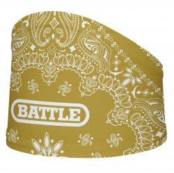 BATTLE スカルラップ ペイズリー ゴールド・ホワイト