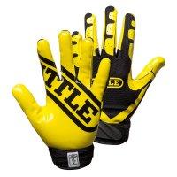 Battle Ultra-Stick Receiver Gloves イエロー