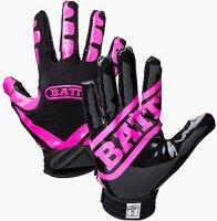 Battle Ultra-Stick Receiver Gloves ブラック・ピンク