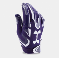 UNDER ARMOUR F5 FOOTBALL GLOVES パープル