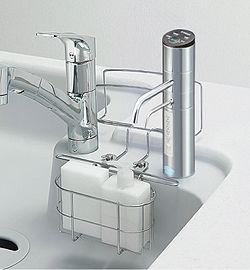 トクラス 洗剤カゴ(マーブルファミリーシンク用 浄水器取付時) WMESKAGOVB