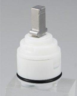 KVK 旧MYMシングルレバーカートリッジ 上げ吐水 (樹脂レバー用) KPS027H-B