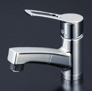 KVK 洗面用シャワー引出しタイプ/シングルレバー混合栓 KM8001TF