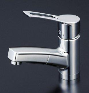 KVK 洗面用ホース引出しタイプ/シングルレバー混合栓 (寒冷地用) KM8001ZT