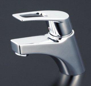 KVK 取付穴径兼用型シングルレバー混合栓 eレバー
