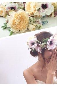 アネモネの花冠パーツセット
