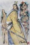 王欣太 『曹操の館』 (原画)