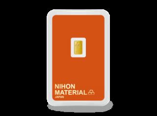 IC-001 インゴットカード 1g