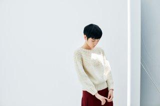 ヨーク模様のセーター