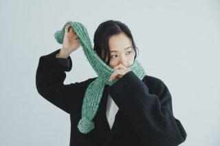 アルプス編みのマフラー キット