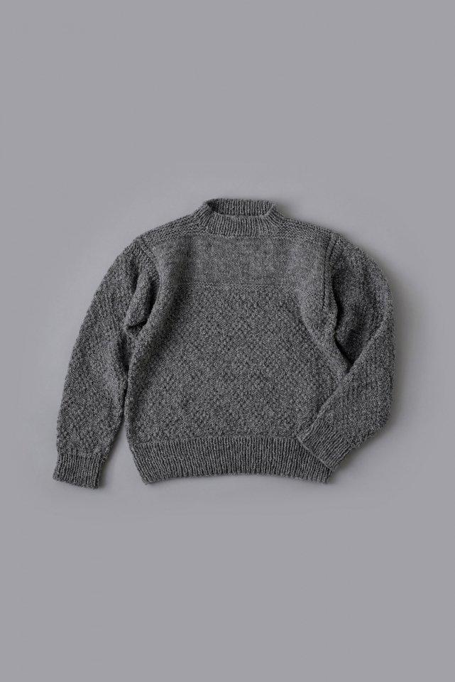チェビオットのガンジーセーター