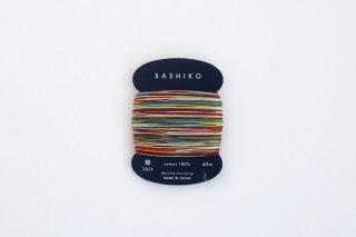 刺し子糸〈細〉 8色カスリ
