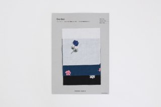 Garden (コットンローン) Sample sheet