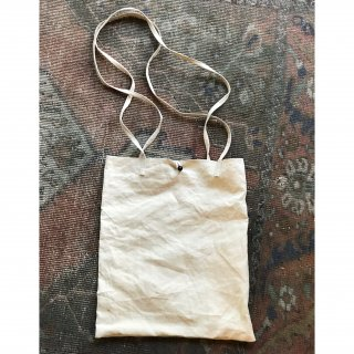 antiquelinen shouldertote bag