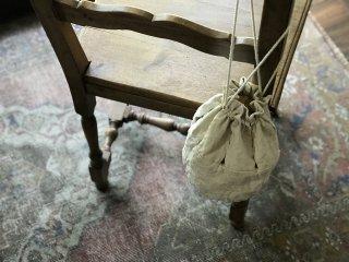 antiquelinen sukima bag 幅広浅めタイプ