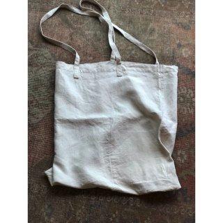 antiquelinen tote bag