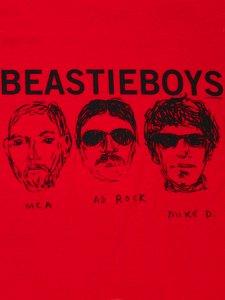 """Beastie Boys Official """"3 Heads & Logo"""" T-Shirt"""