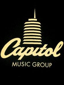 """Capitol Records """"Classic Logo"""" T-Shirt"""