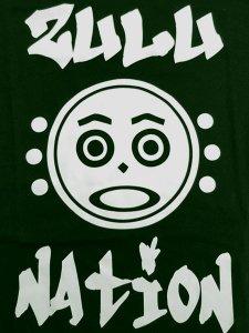 """Zulu Nation """"Zulu Face"""" T-Shirt"""